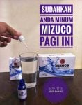 35 Khasiat Terapi Air MIZUCO Mineral Power Drop