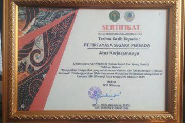 sertifikat Tirtayasa Segara Persada